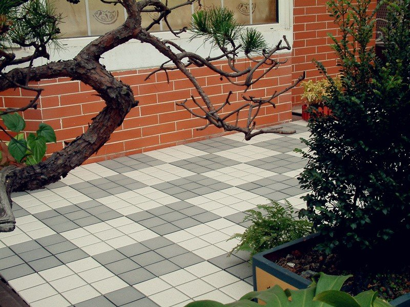 1.0cm ceramic outdoor flooring deck tiles JB5015-8