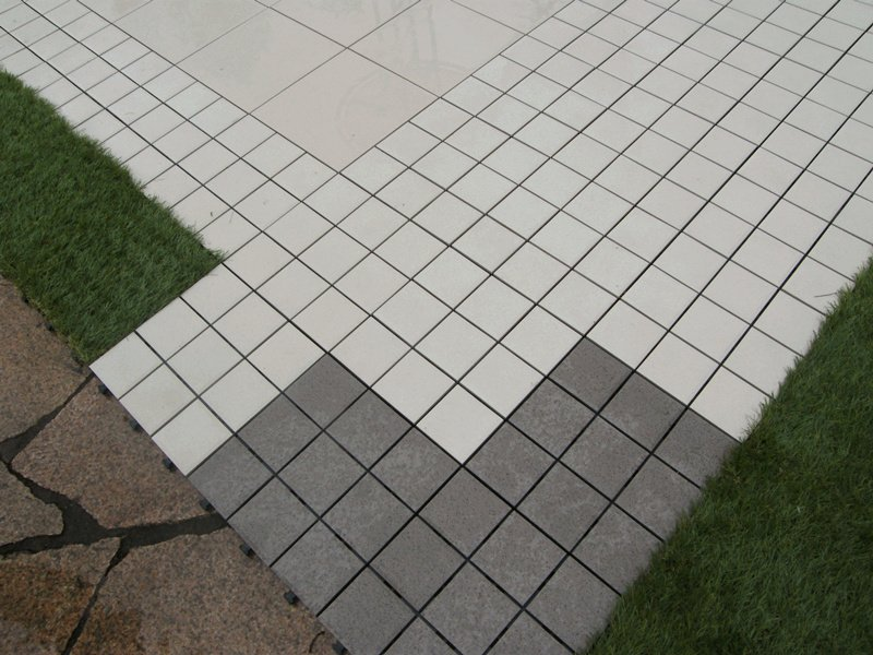 1.0cm ceramic outdoor flooring deck tiles JB5015-6
