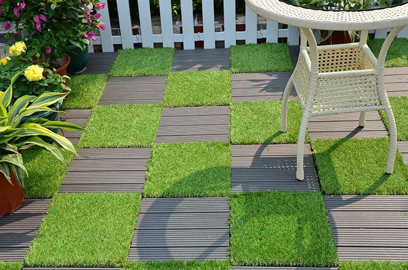 JIABANG artificial grass squares easy installation for garden-5