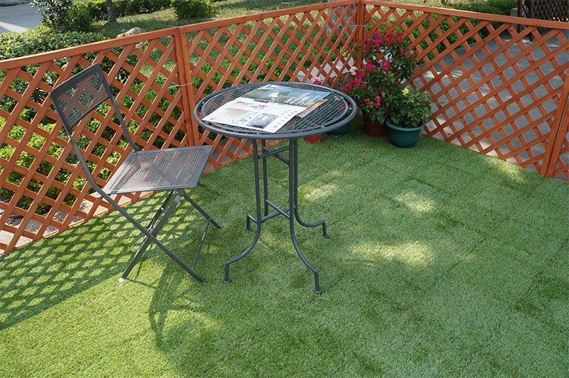 JIABANG fake grass squares easy installation for garden-5