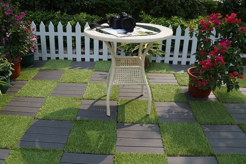 JIABANG fake grass squares easy installation for garden-6