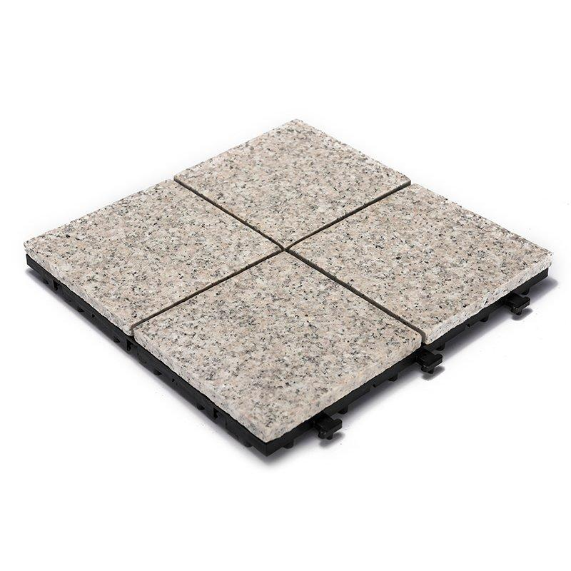 Exterior interlocking stone tile flooring for balcony JBP2364