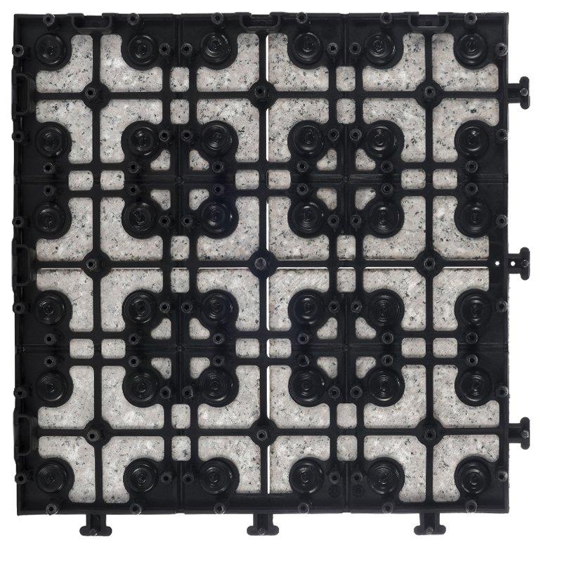 JIABANG Exterior interlocking stone tile flooring for balcony JBP2364 Granite Deck Tiles image79