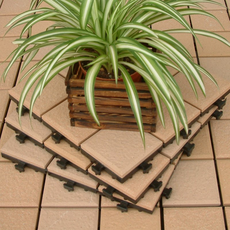 JIABANG outdoor flooring 1.0cm gazebo deck tile JBH007 1.0cm Ceramic Deck Tiles image75