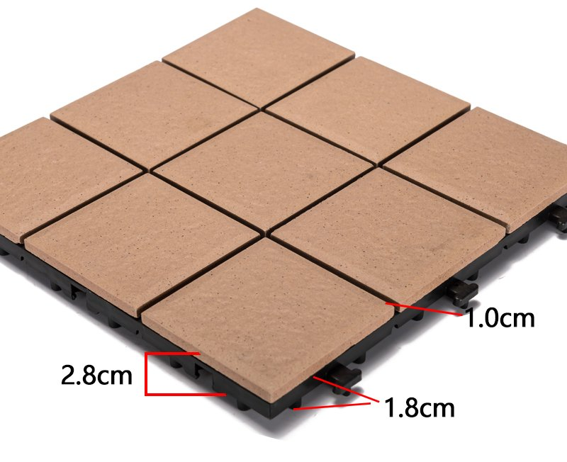 OBM porcelain tile for outdoor patio flooring custom size gazebo construction-3