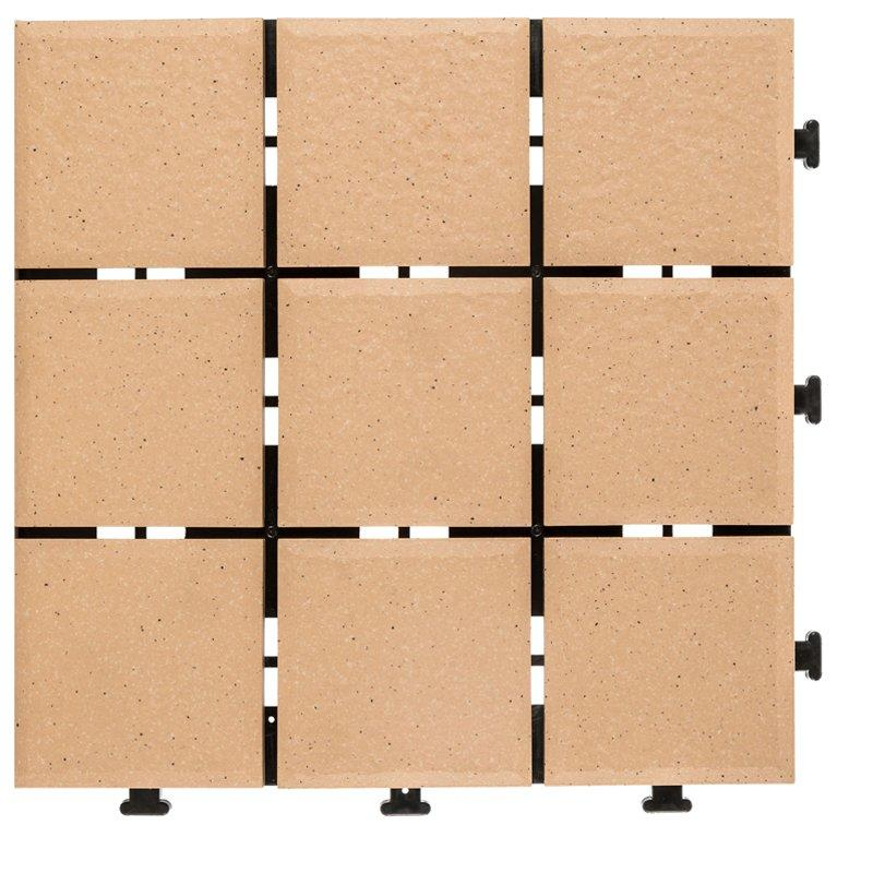1.0cm ceramic exhibition floor deck tiles JB5013