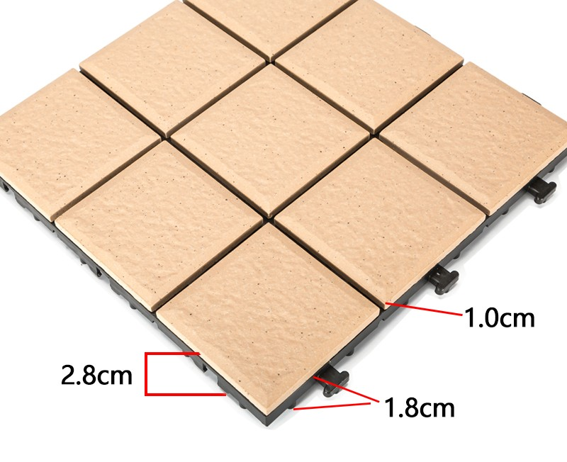 JIABANG OBM outdoor ceramic deck tiles for patio decoration-3