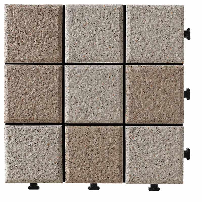 JIABANG 1.0cm ceramic outside flooring deck tile JBH006 1.0cm Ceramic Deck Tiles image72