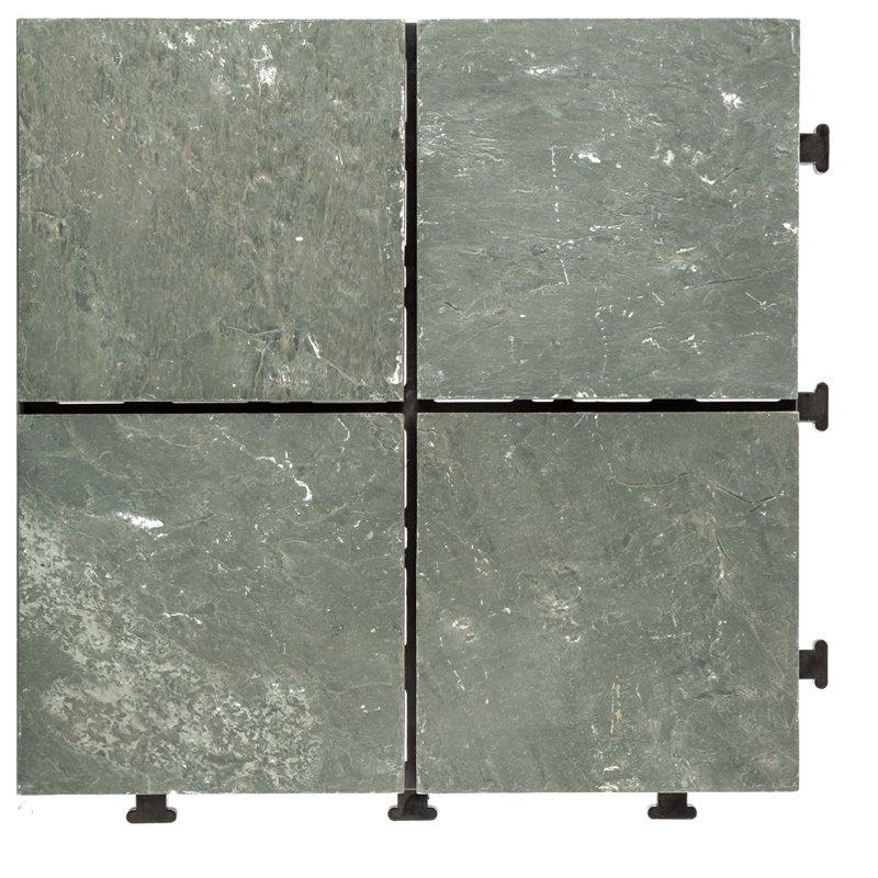 JIABANG Outdoor natural interlocking slate stone tile online JBT003 Slate Deck Tiles image77
