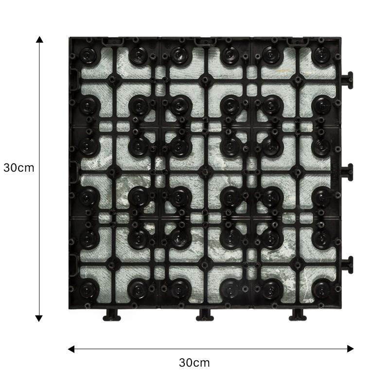 JIABANG interlocking slate tiles basement decoration swimming pool-2