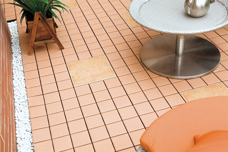 how to lay decking tiles