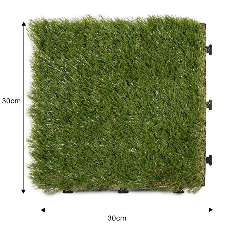 JIABANG permeable outdoor wood tiles on grass easy installation for customization-1