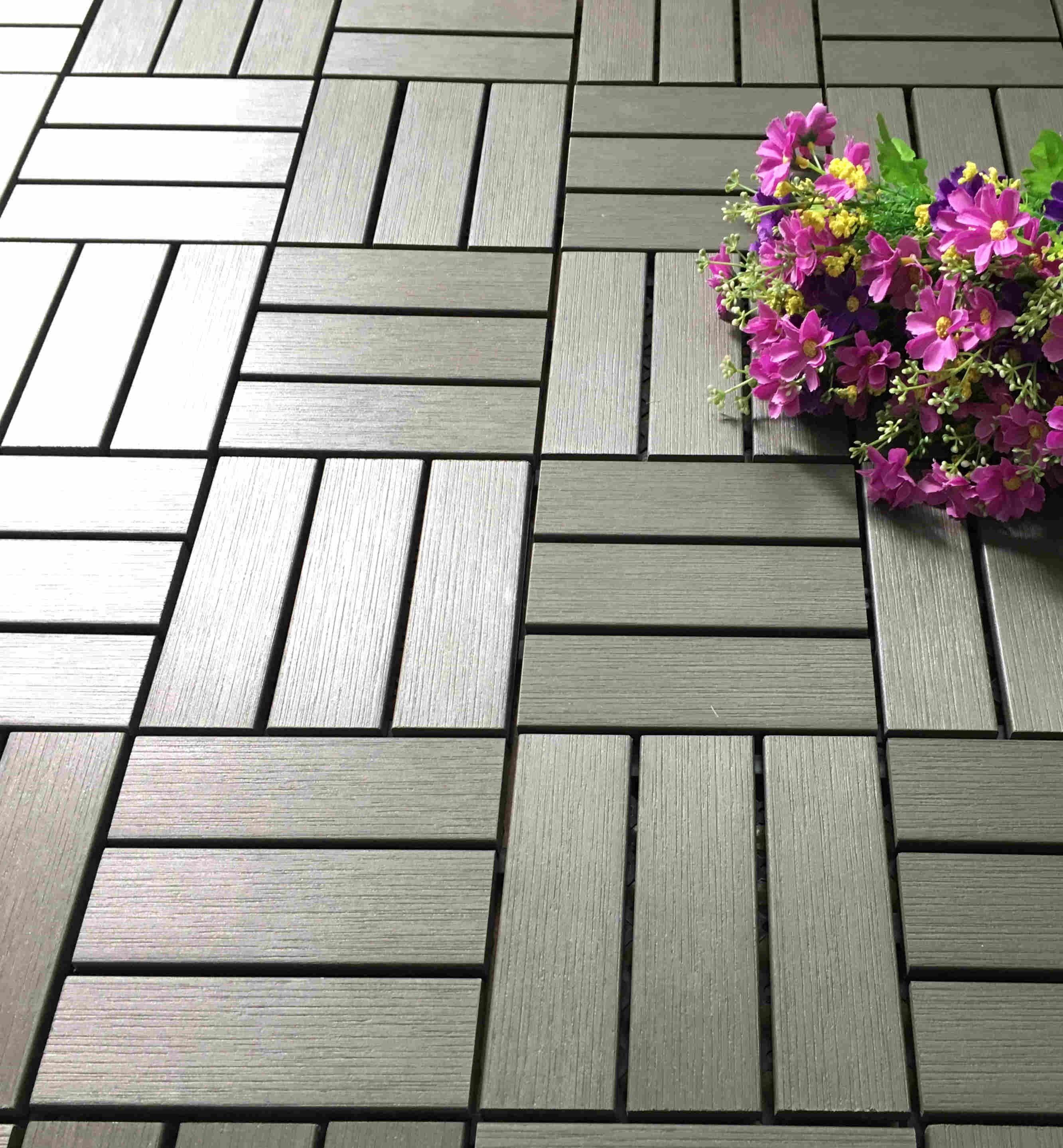 JIABANG Garden path plastic deck tiles PS12P30312DGH Plastic Deck Tile image68