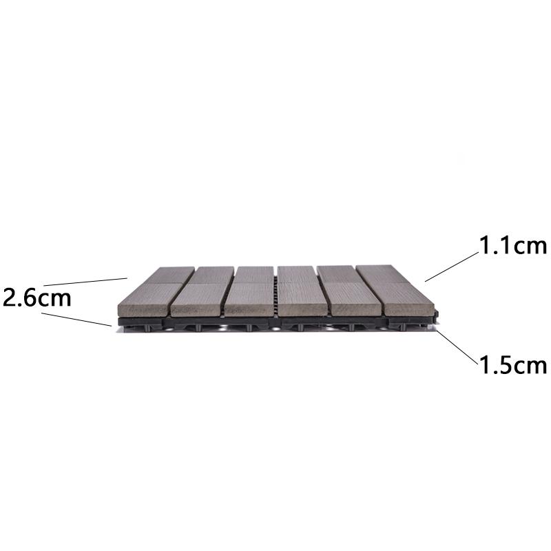 JIABANG wholesale plastic decking tiles popular gazebo decoration-3