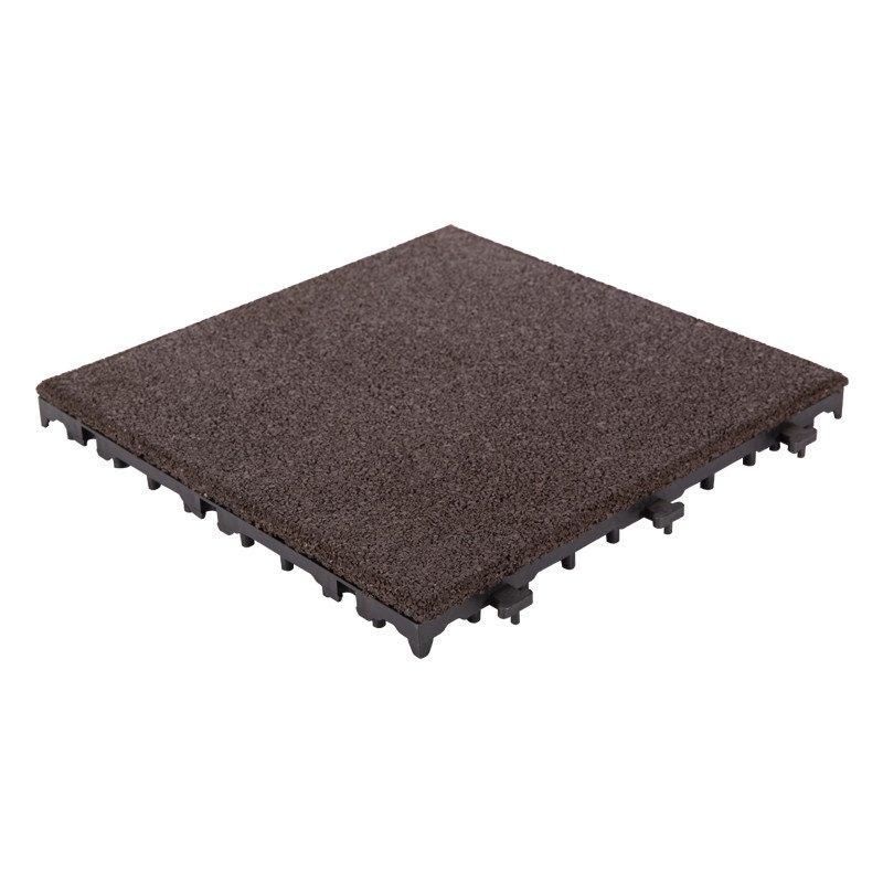 JIABANG Outdoor flooring rubber patio tile XJ-SBR-DBR001 SBR Rubber Deck Tile image66