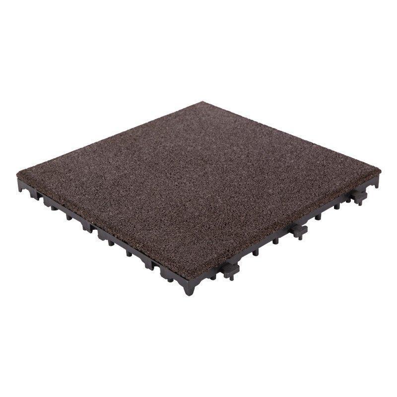 Outdoor flooring rubber patio tile XJ-SBR-DBR001