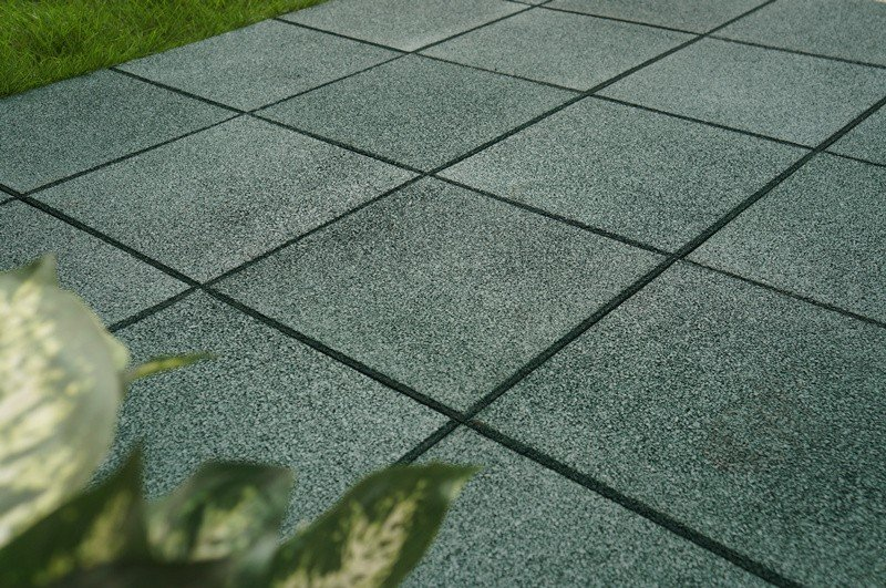 Playground rubber composite Tiles XJ-SBR-GN001-7
