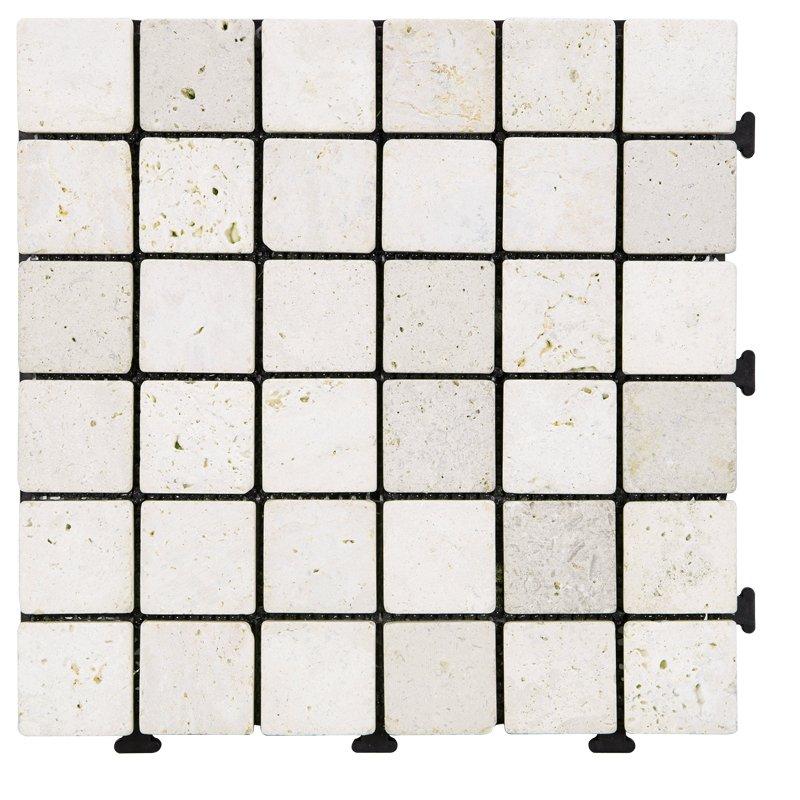 JIABANG Special design of click DIY tiles for distribution TTS36P-YL Travertine Deck Tile image56