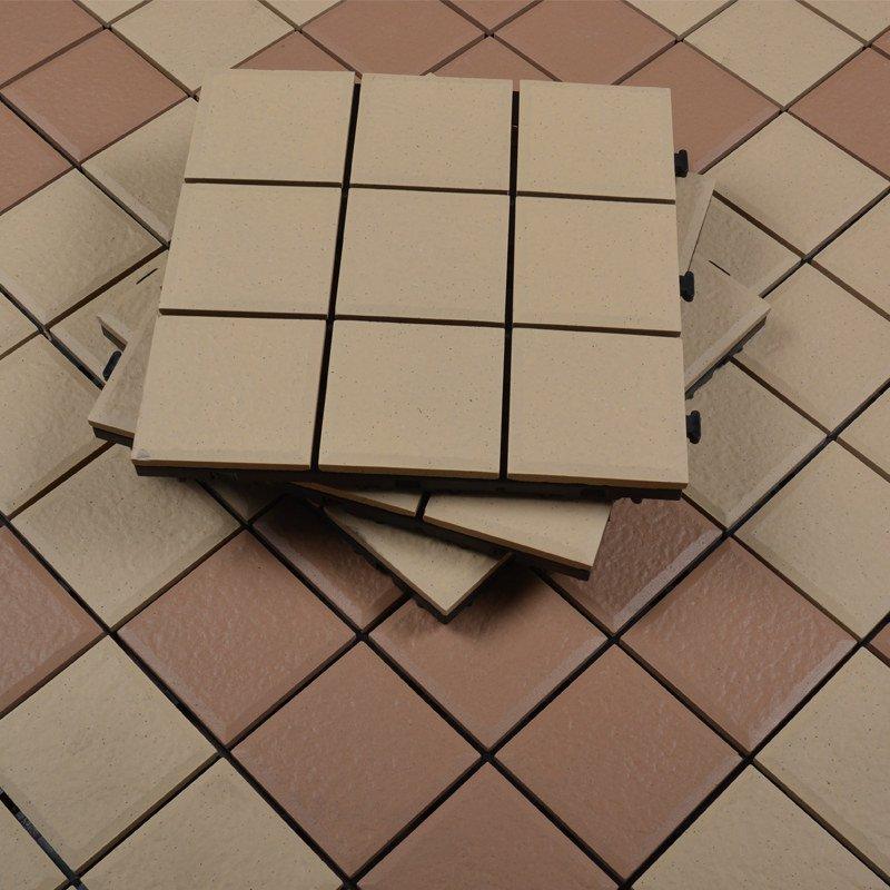 JIABANG 30x30cm Patio Squares ceramic decking tile JJ02 1.0cm Ceramic Deck Tiles image52
