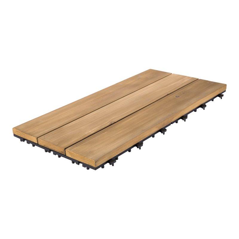 JIABANG 30x60cm fir wooddeck flooring for garden S3P3060PH Fir Wood Deck Tile image46