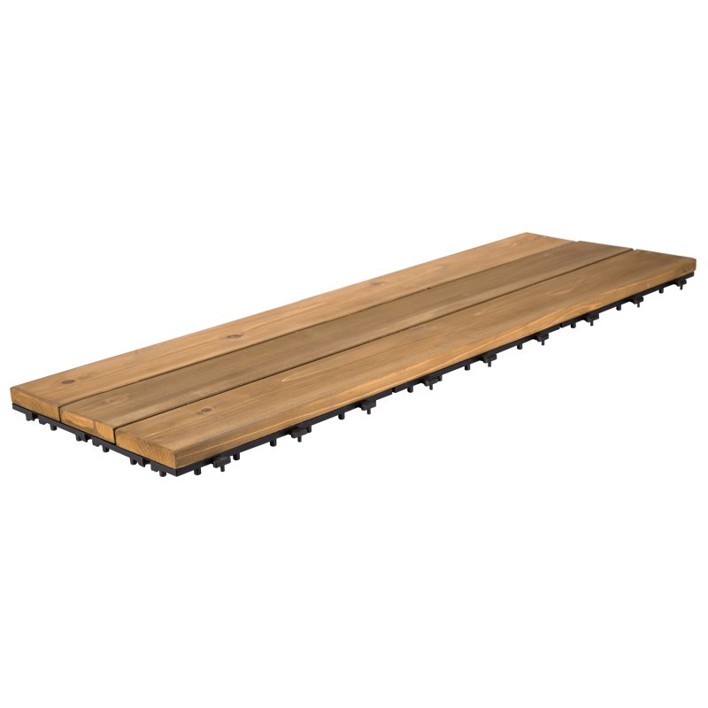 JIABANG 30X90CM long size wooden floor decking tiles S3P3090PH Fir Wood Deck Tile image44
