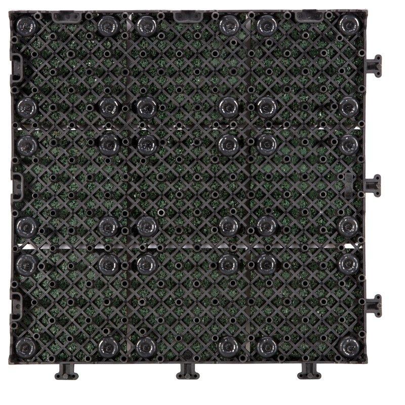 JIABANG factory direct snap together rubber deck tiles XJ-SBR-GN004 SBR Rubber Deck Tile image43