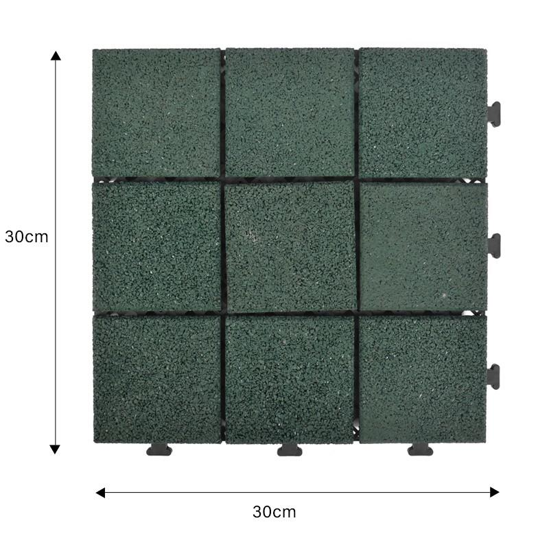 professional interlocking rubber mats playground cheap house decoration