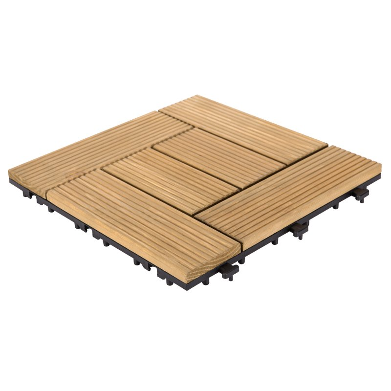 JIABANG Adjustable DIY refinishing fir wood floors S6P3030BQ Fir Wood Deck Tile image40