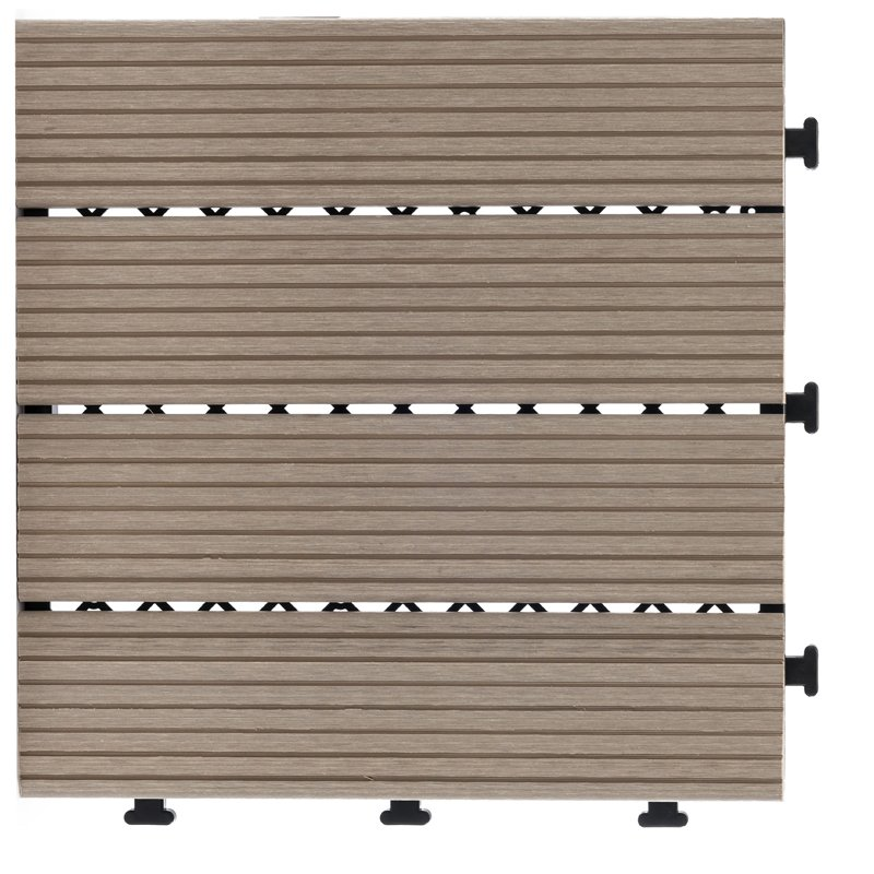 JIABANG White color wpc composite decking tile for outdoor floor SM-4P-A WH Composite Deck Tile image38