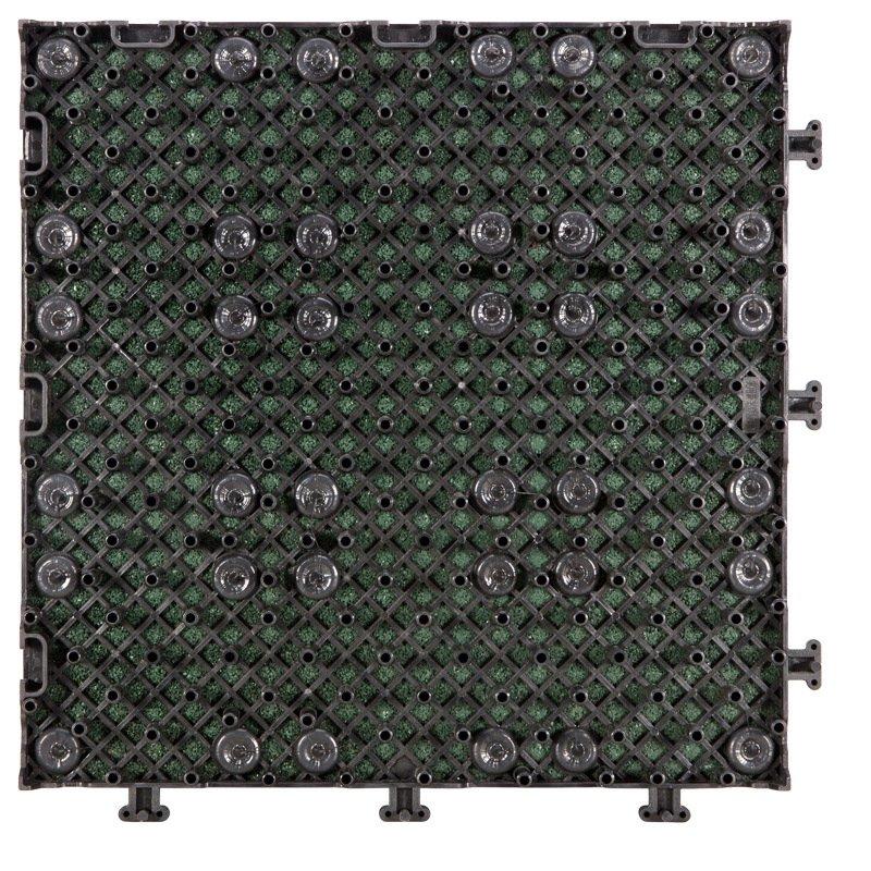 JIABANG Outside Flooring sport court rubber tile XJ-SBR-GN003 SBR Rubber Deck Tile image36
