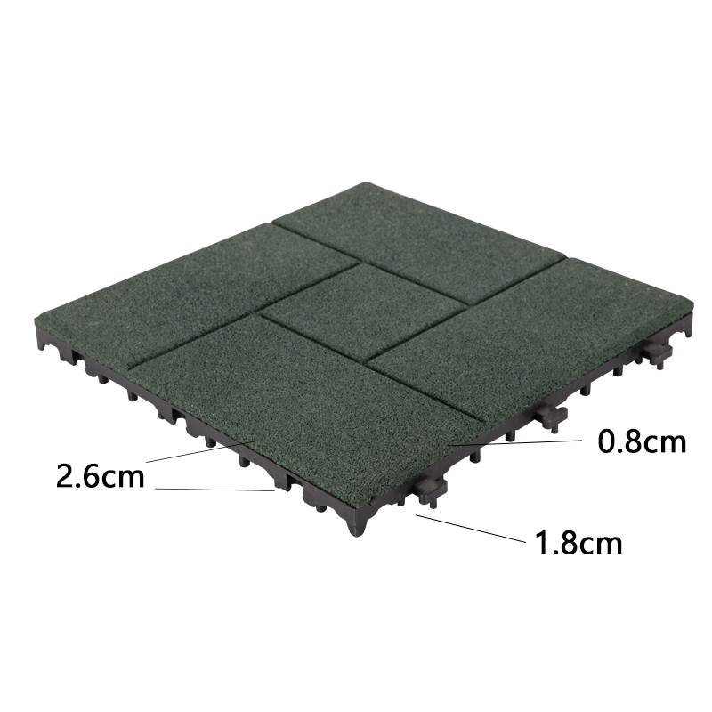 wood patio squares