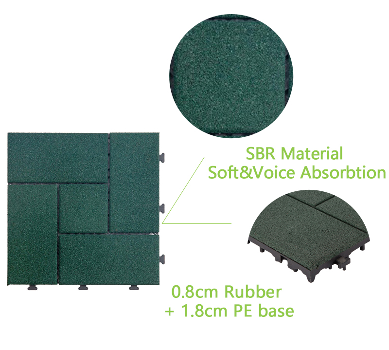 professional rubber mat tiles playground cheap for wholesale-4