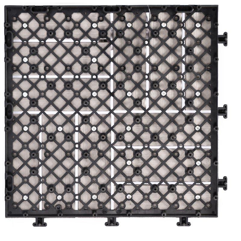 JIABANG Plastic sun room decking tile PS12P30312LGC Plastic Deck Tile image35
