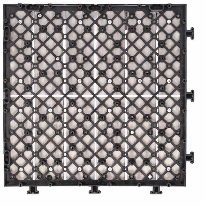 JIABANG Woodland plastic deck tiles PS12P30312LGH Plastic Deck Tile image34