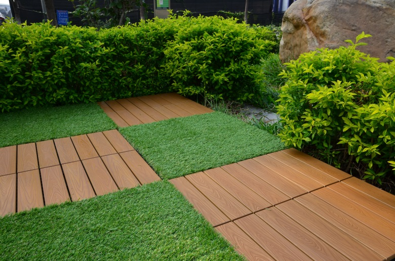 Woodland plastic deck tiles PS12P30312TKC-6