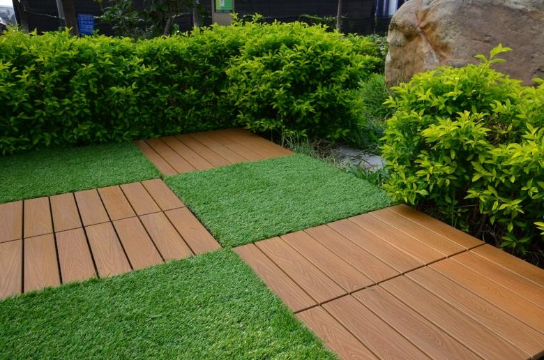 JIABANG wholesale plastic decking tiles popular garden path
