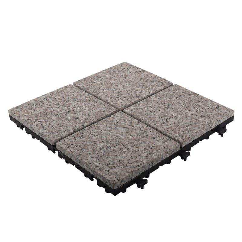 Waterproof garden granite stone deck floors JBV2644