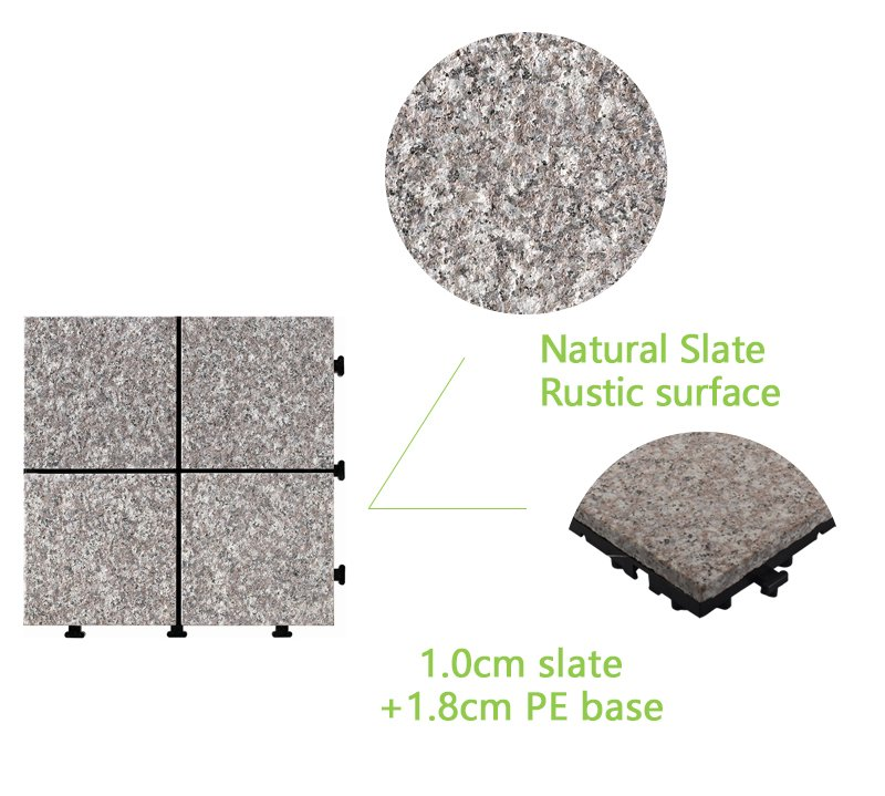 highly-rated gray granite tile durable from top manufacturer for wholesale-4