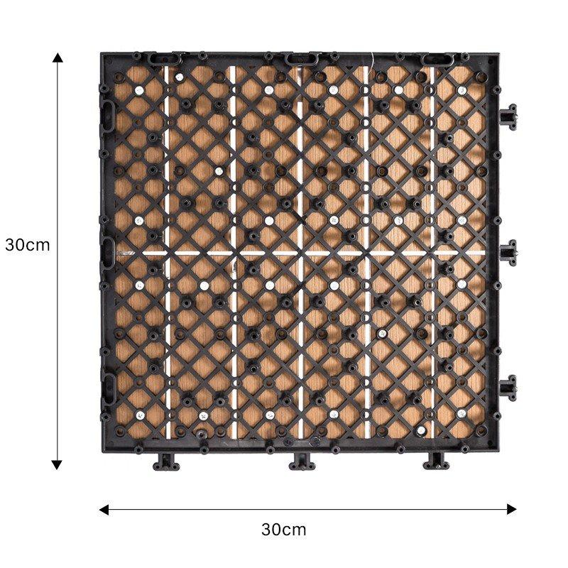 durable plastic interlocking deck tiles high-quality home decoration JIABANG