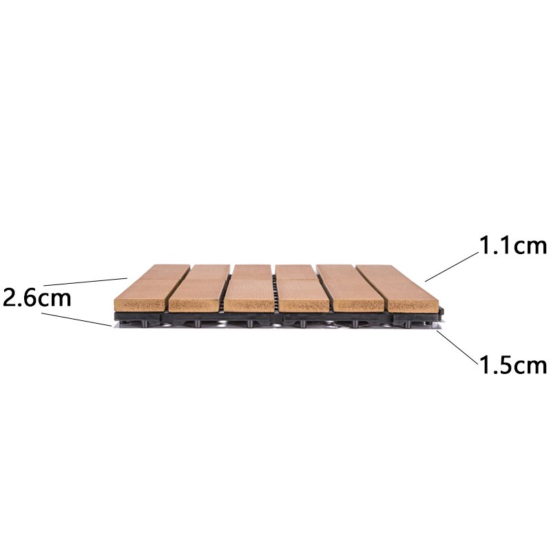 wholesale outdoor plastic patio tiles light-weight popular garden path-3