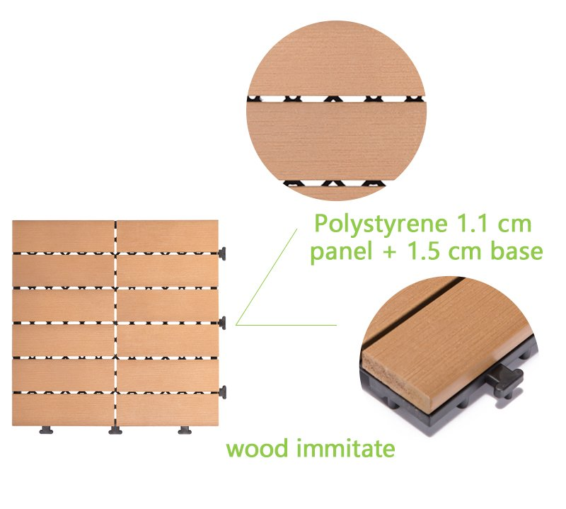 JIABANG hot-sale plastic decking panels high-quality home decoration-4