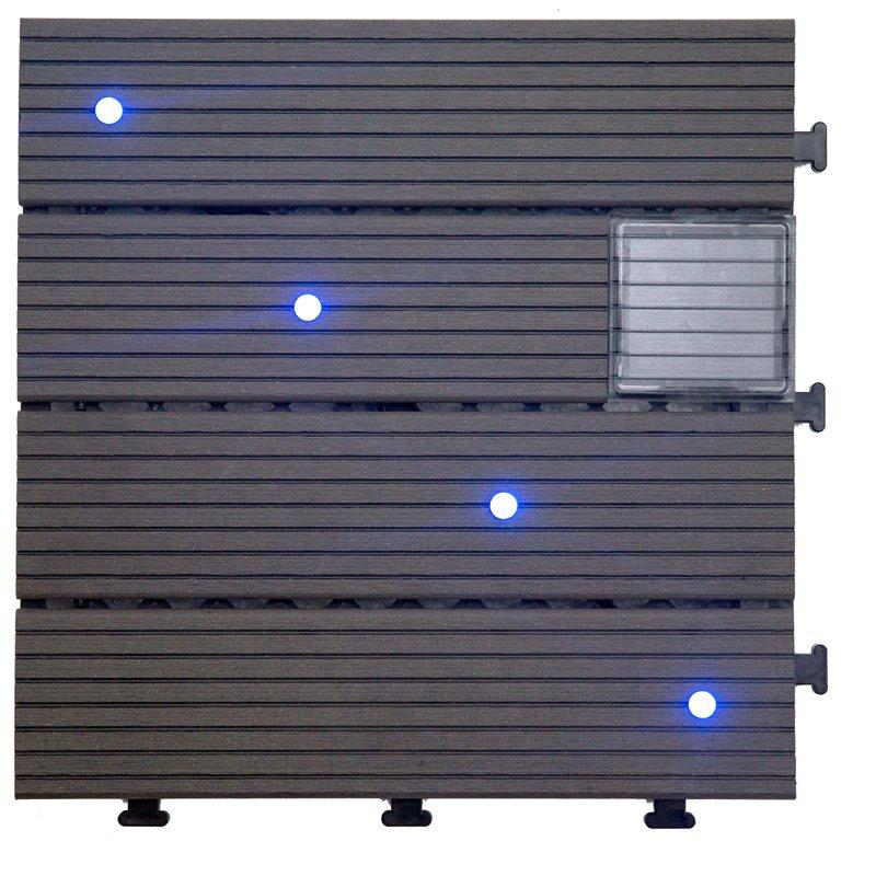 Garden lamp solar light deck tiles SSLB-WPC30- LDX