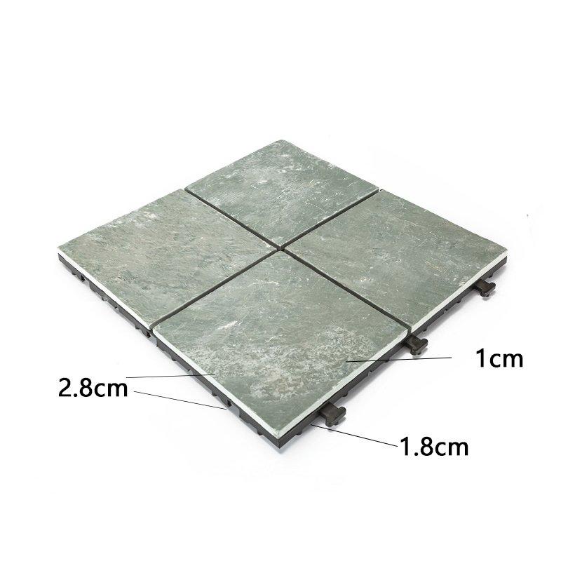 JIABANG interlocking slate tiles basement decoration swimming pool-3