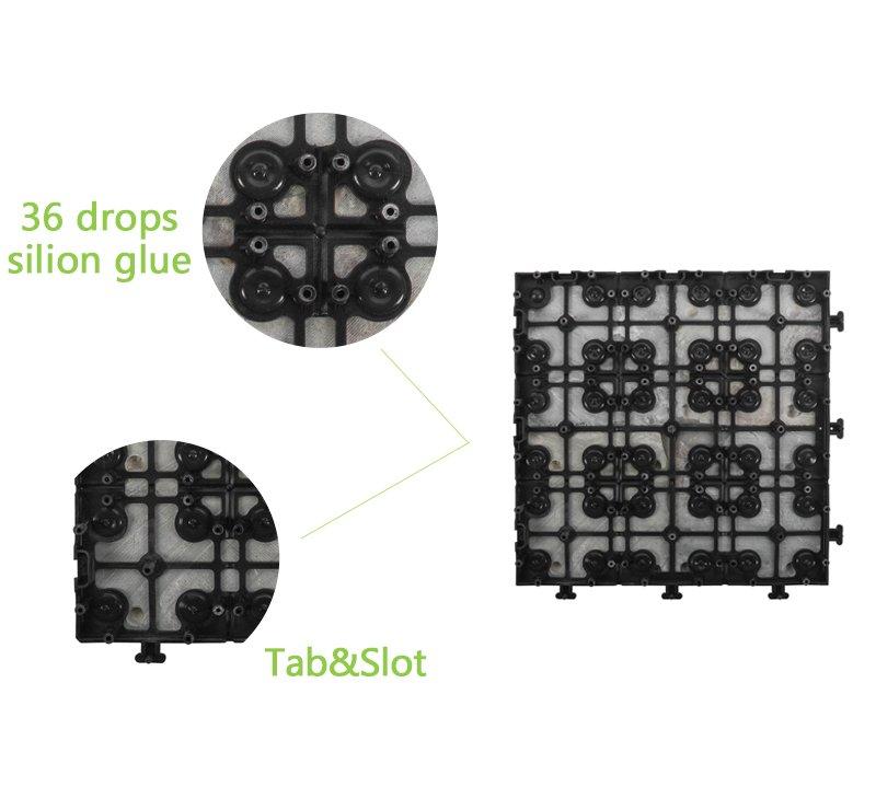 Outdoor natural interlocking slate stone tile online JBT003-5