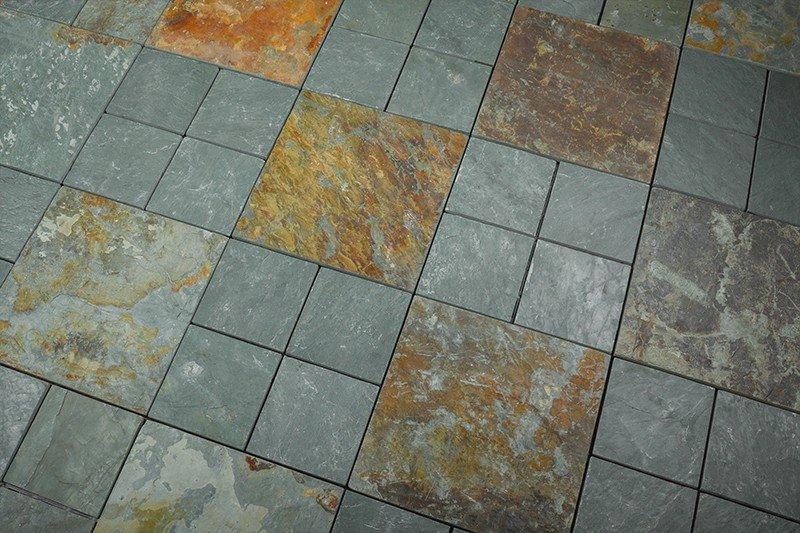 Outdoor natural interlocking slate stone tile online JBT003-7