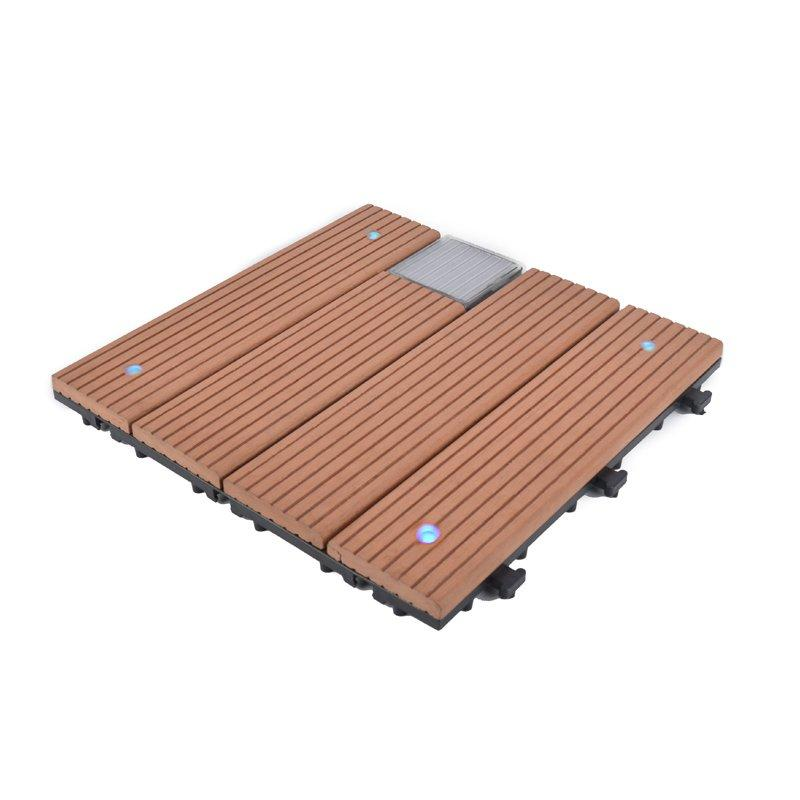 Garden lamp solar light deck tiles SSLB-WPC30 BP