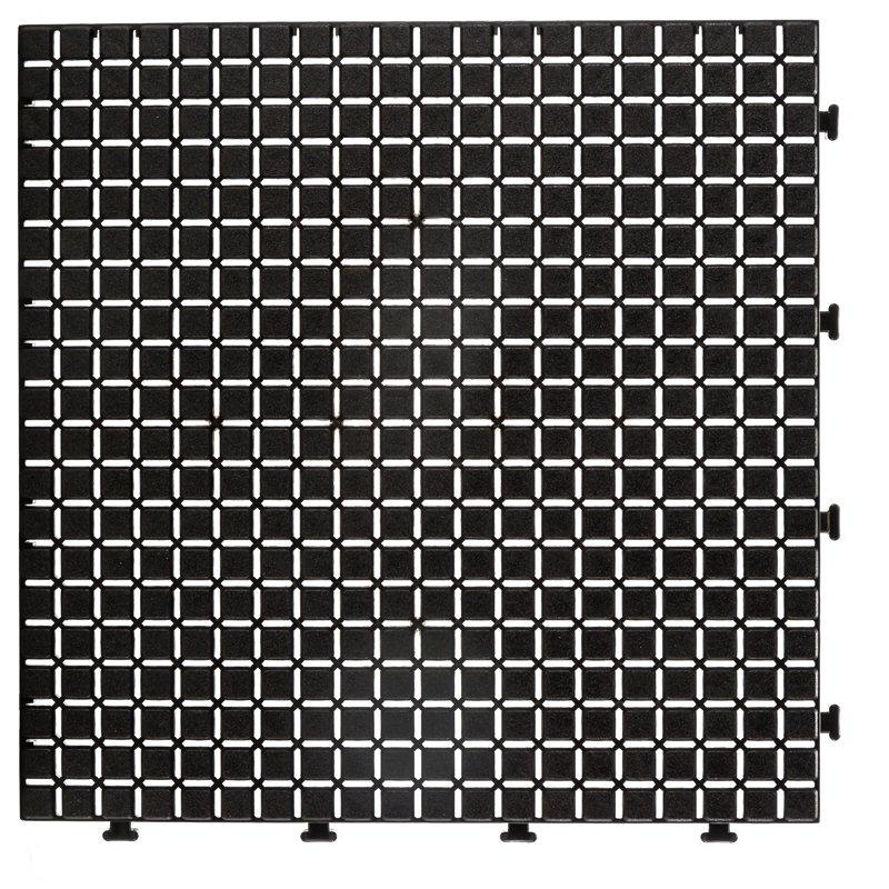 JIABANG Non slip bathroom floor plastic mat JBPL3030N black Plastic Mat image23