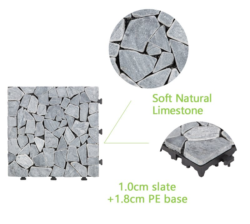 JIABANG interlocking outdoor travertine pavers wholesale for garden decoration-4