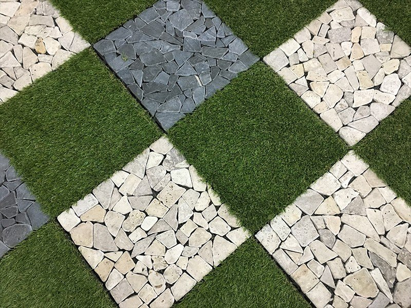 diy travertine wall tiles at discount for playground JIABANG-6