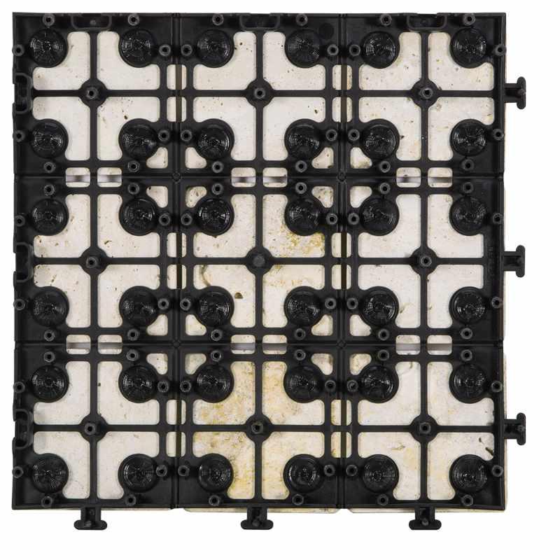 JIABANG outdoor DIY tilenatural travertine stone TTS11P-YL Travertine Deck Tile image22